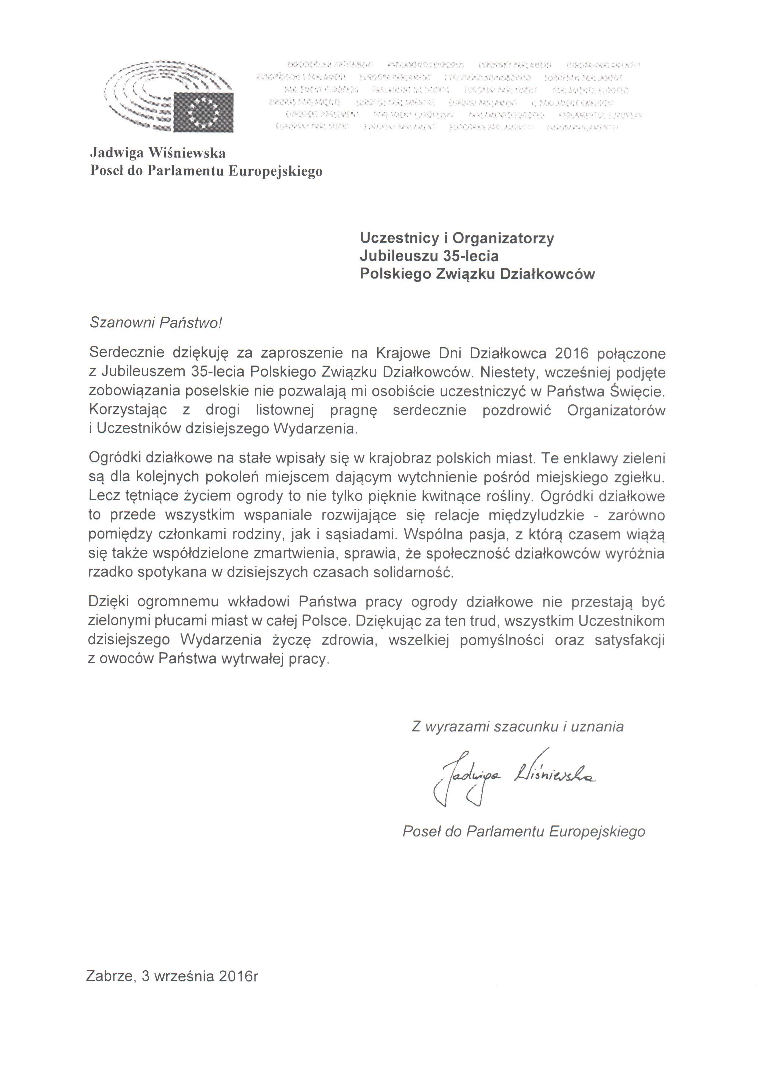 Polski Związek Działkowców Bieżące Wydarzenia